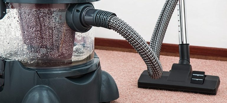 Vacuum cleaner people use when providing expert cleaning services.