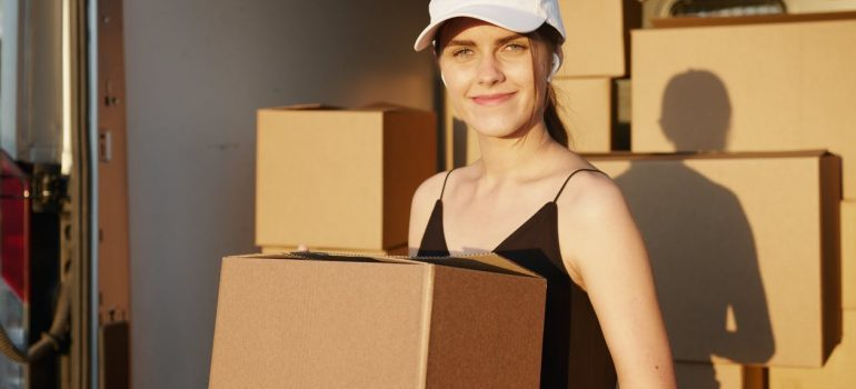 professional movers treating items carefully