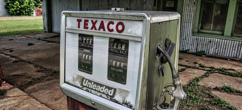 vintage texaco oil pump