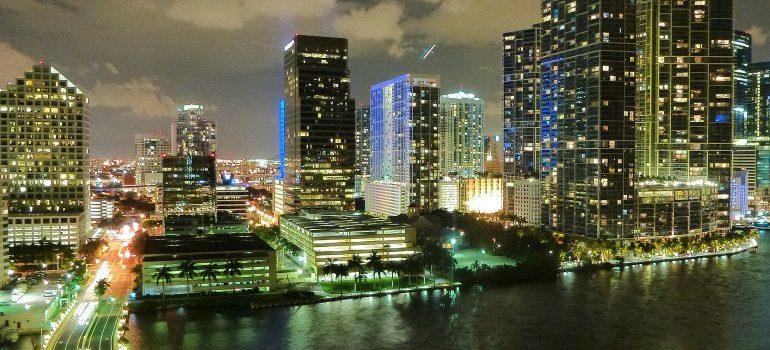 getting used to Miami lifestyle - Miami skyline