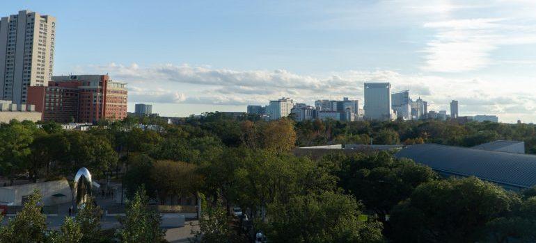 Houston neighborhoods