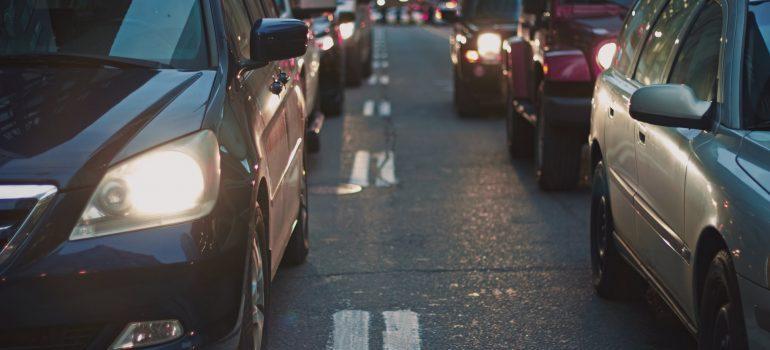 A traffice jam