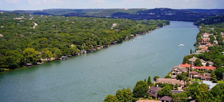 Lake Austin in Austin Texas